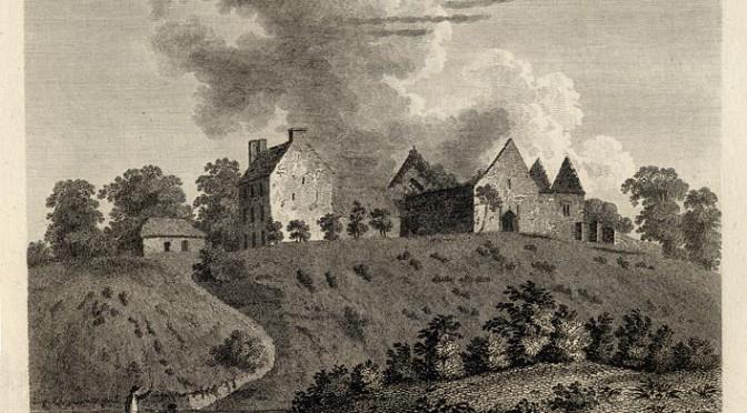 Ballyhaunis Abbey old
